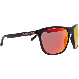 Red Bull SPECT Rocket Sunglasses Men, shiny black/brown-red mirror
